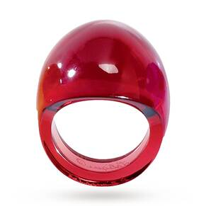 Lalique Gourmande Red Ring