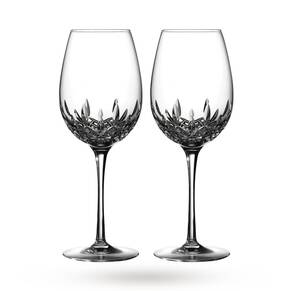 Waterford Crystal Lismore Essence Pair Of Red Wine Goblets