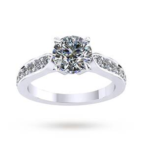 Mappin & Webb Boscobel Engagement Ring With Diamond Band ...