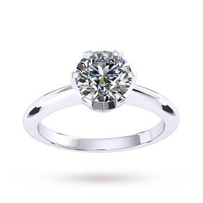 Mappin & Webb Hermione Engagement Ring 1.00 Carat - Ring Size K