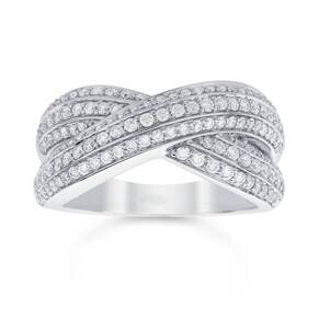 Beaumont Kiss Ring - Ring Size K