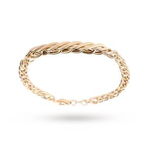 9ct Italian Gold Graduated Bracelet