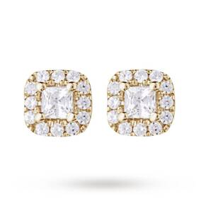 9ct Yellow Gold 0.20ct Diamond Stud Earrings