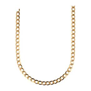 9ct Gold 18 Inch Extra Large Metric Curb Chain