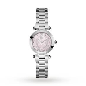 Gc Y07001L3 Ladychic Silver Tone Watch