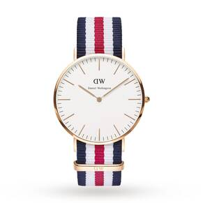 Daniel Wellington Men's Canterbury 40mm Watch