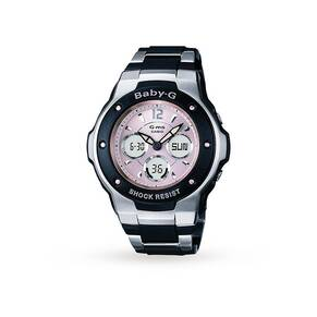 Gms Baby-G Ladies Pink and Black Watch