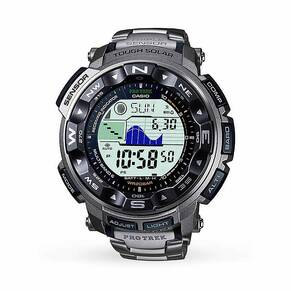 Casio Men's Pro Trek Titanium Alarm Chronograph Watch