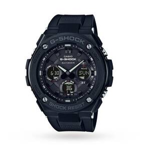Casio G-Shock Black Metal Radio Controlled Solar Watch GST-W100G-1BER