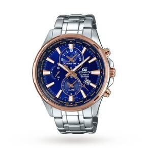 Casio Men's Edifice Two Tone World Time Sport Watch