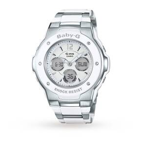 Casio Ladies' Baby-G Alarm Chronograph Watch