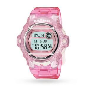 Casio Ladies' Baby-G Alarm Chronograph Watch