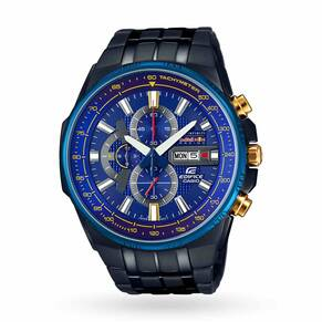 Mens Casio Edifice Infiniti Red Bull Racing Exclusive Chr ...