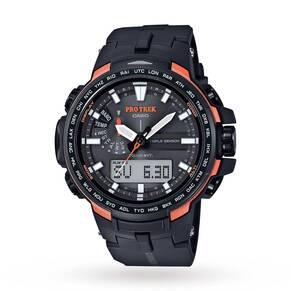 Mens Casio Pro Trek Alarm Chronograph Watch PRW-6100Y-1ER