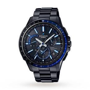 Mens Casio Oceans GPS Hybrid Alarm Watch OCW-G1100B-1AJF