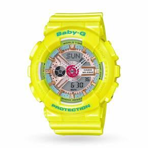 Ladies Casio Baby-G Alarm Chronograph Watch BA-110CA-9AER