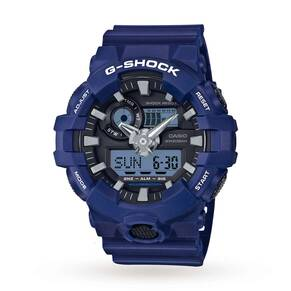 Mens Casio G-Shock Alarm Chronograph Watch GA-700-2AER