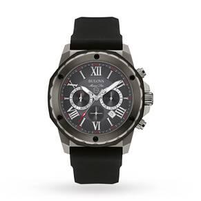 Mens Bulova Marine Star Chronograph Watch 98B259