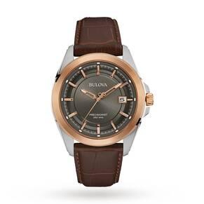 Mens Bulova Precisionist Watch 98B267