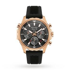Mens Bulova MARINE STAR Chronograph Watch 97B153
