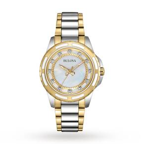 Ladies Bulova Diamond Gallery Diamond Watch 98S140