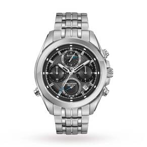 Mens Bulova Precisionist Chrono Chronograph Watch 96B260