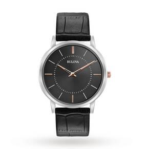 Mens Bulova Ultra Slim Watch 98A167
