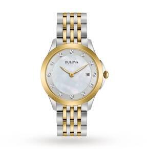Ladies Bulova Diamond Gallery Diamond Watch 98S161