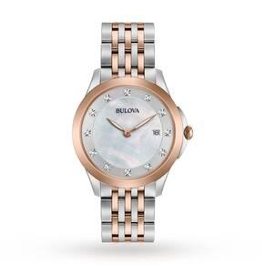 Ladies Bulova Diamond Gallery Diamond Watch 98S162