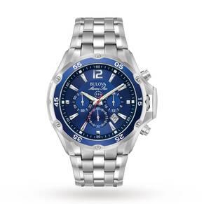 Mens Bulova Marine Star Chronograph Watch 98B282