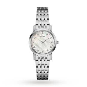 Ladies Bulova Diamond Watch 96P175