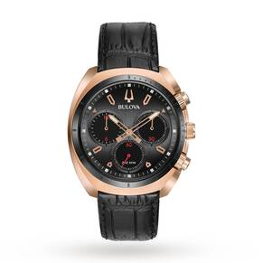 Mens Bulova Sport CURV Chronograph Watch 98A156