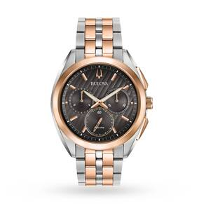 Bulova Men's Progressive Dress CURV Chronograph Watch