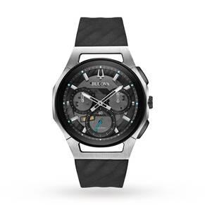 Bulova Men's Progressive CURV Titanium Chronograph Watch