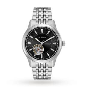 Mens Bulova Mechanicals Automatic Watch 96A191