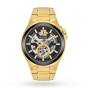 Mens Bulova Automatic Automatic Watch 98A178