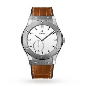 Hublot Glassic Fusion Classico Ultra Thin Mens Watch