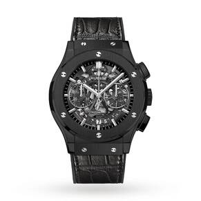 Hublot Classic Fusion Skeleton Chronograph Mens Watch