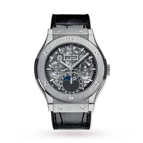 Hublot AeroFusion Moonphase Titanium Mens Watch