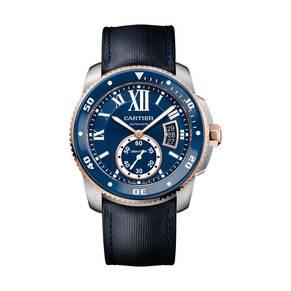 Cartier Calibre de Cartier Diver blue watch, 42 mm
