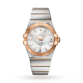 Omega Constellation Gents Steel and Gold Watch