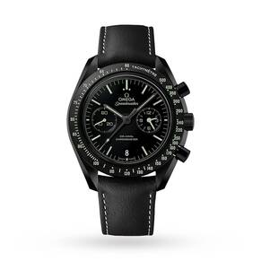 "Omega Dark Side Of The Moon ""Pitch Black"" Mens Watch"