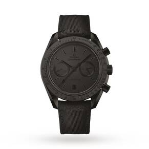 "Omega Dark Side Of The Moon ""Black Black"" Mens Watch"
