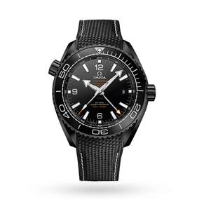 "Omega Planet Ocean ""Deep Black"" Mens Watch"