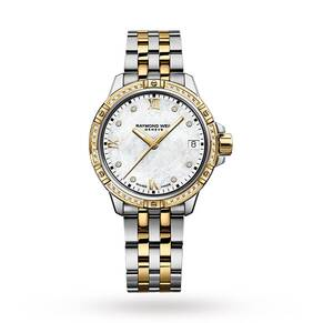 Raymond Weil Tango Diamond Gold Plated Ladies Watch