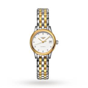 Longines Flagship Ladies Diamond set Bicolour Watch