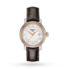 Tissot Ladies Bridgeport Strap Watch
