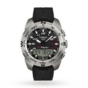 Tissot Men's T-Touch Expert Titanium Alarm Chronograph Watch