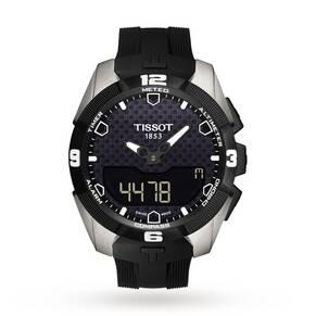 Mens Tissot T-Touch Expert Titanium Alarm Chronograph Sol ...