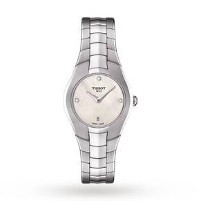 Ladies Tissot T-Round Watch T0960091111600